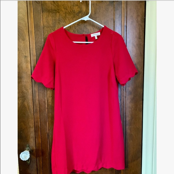 Monteau Dresses & Skirts - Red Shift Dress